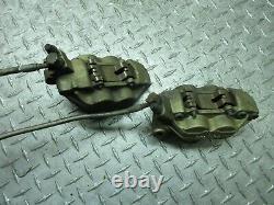 01 2001 ducati monster 900 front brake calipers caliper master cylinder line