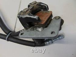 02449 Honda ATC250R OEM Front Brake Caliper & Line 84 1984 CF