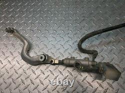 04 2004 drz 400 drz400ek ek drz400 rear brake caliper master cylinder pedal line