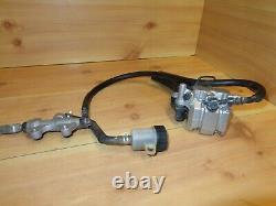 08-09 Kawasaki KLR650 KL650 KLR KL 650 Rear Brake Master Cylinder Caliper Line