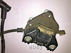 1978 Honda Cb400T Left Front Brake Caliper with Master Cylinder and line
