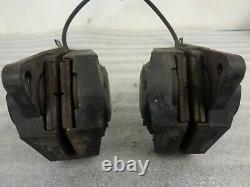 1985 85 Bmw K100rt Oem Right & Left Front Brake Calipers Brake Line & Splitter
