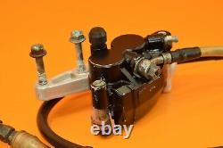 1989 89 CR250 CR 250 Front Brake Master Cylinder Caliper Line Bracket Assembly