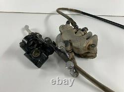 1993 93 Honda CR125 CR 125 250 Front Brake Caliper Master Cylinder Hose Line ASV