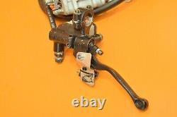 1993 93 XR650 XR 650 Front Brake Master Cylinder Caliper Line Pads Assembly