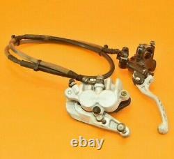 1994 94 CR125 CR 125 Front Brake Master Cylinder Caliper Line Bracket Lever A