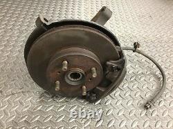 1995-98 Toyota Tercel Front Disc Brake Spindle Hub Rotor Caliper Brake Line RH