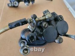 1995 Honda XR250L Front Brake Cylinder Caliper Line Lot