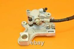 1999 99 KX250 KX 250 Rear Brake Assembly Caliper Master Holder Reservoir Line