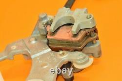 2003 03 KX250 KX 250 Rear Brake Assembly Caliper Master Holder Pedal Line