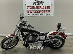 2003 Harley-Davidson Dyna FXDL Rear Brake Assembly Caliper Master Cylinder Line