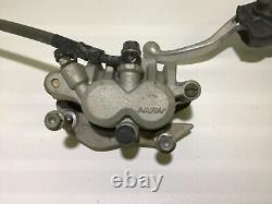 2004 04 Honda CRF250R CRF 250 Front Brake Caliper Master Cylinder Lever Line