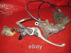 2005-2007 Triumph Sprint ST 1050 st1050 Front Brake Caliper line lever