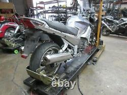 2007 07-12 Yamaha FJR1300 OEM Front Brake Calipers Line Hose Pair Lot