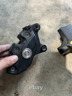 2008 2021 HARLEY TOURING OEM BREMBO FRONT BRAKE CALIPERS street with abs line