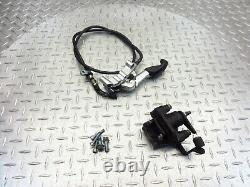 2009 07-15 Aprilia Mana 850 NA OEM Parking Brake Caliper Line Hardware Lot