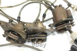 2012 Polaris Sportsman 800 4x4 Brake System with Caliper Cylinder and Line