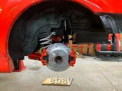 79-04 Mustang Scotidi Race Development Dual Caliper Brackets billet PAIR (2)