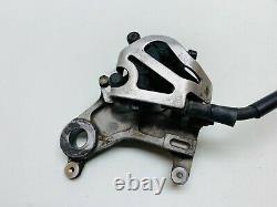 89 Honda CR500 CR 500 Rear Brake Master Cylinder Caliper Hose Line Pedal 1989 #1