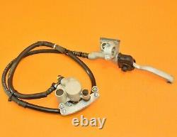 96-97 1997 CR80 CR 80 Front Brake Caliper Holder Line Master Cylinder BIG WHEEL