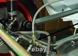 Axle Brake Line Kit AP Racing CP2382/3 Caliper -3 JIC Aeroquip Pipe Hose Fitting