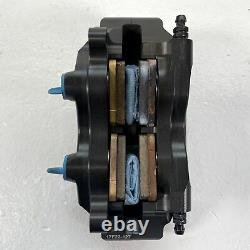 Brembo Axial Billet 2-Piece 30/34 Dual Inlet Rear Brake Caliper with Brembo pads