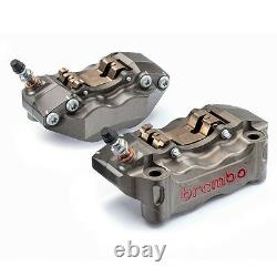 Brembo Billet (CNC) Front Caliper Kit with Brake Pads 108mm Radial Spacing