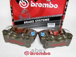 Brembo Billet (CNC) Front Radial Caliper Kit with Brake Pads for European Models