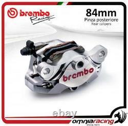 Brembo CNC P4 34 84 Supersport rear billet brake caliper +pads Aprila/Ducati