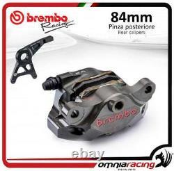 Brembo CNC P4 34 84 Supersport rear billet brake caliper +pads bracket Kawasaki