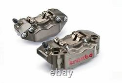 Brembo HP Billet Front Brake Calipers 108mm (set of 2) 220A01610 220. A016.10 NEW