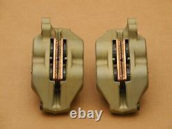 Brembo P4 34 / 30 Gold Line 40 MM Front Brake Calipers, Good Condition