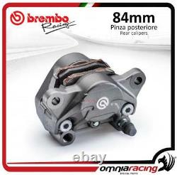 Brembo P4 34 84 cast Sport rear axial billet brake caliper +pads Ducati/Aprilia