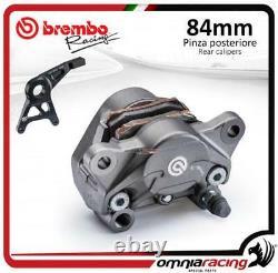 Brembo Racing P4 34 84 cast Sport rear axial billet brake caliper +pads Kawasaki
