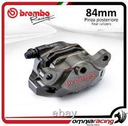 Brembo Racing P4 34 84mm Supersport rear billet brake caliper with pads Aprilia