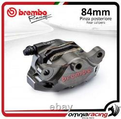 Brembo Racing P4 34 84mm Supersport rear billet brake caliper with pads Ducati