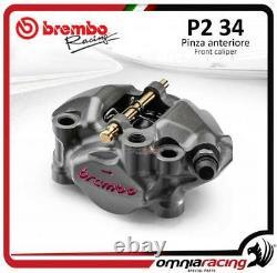 Brembo Racing XA88821 / 60mm P2 34DX Radial Monoblock Billet Brake Caliper Moto3