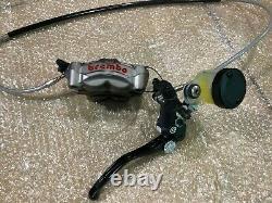 Brembo SuperMoto Master Cylinder/Caliper/Brake line Asssembly KTM/Husqvarna