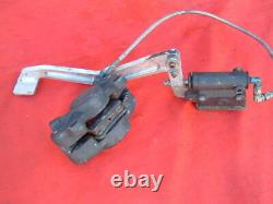 Dragbike Grimeca Rear Brake Caliper, Master Cylinder and Stainless Brake Line wit