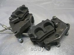 Ducati 2007 Monster S2R 800 07 Factory Front Disc Brake Calipers & Line OEM Set