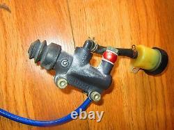 Ducati Oem 851 888 Monster Rear Brake Master Cylinder & Caliper / Brake Line