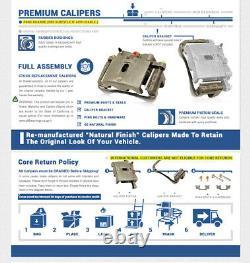 For 2000 2001 2002 2005 Dodge Neon Front Calipers + Brake Rotors +Ceramic Pads