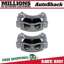 Front Disc Brake Caliper with Bracket Pair 2 for Saturn Vue Chevrolet Equinox 3.5L