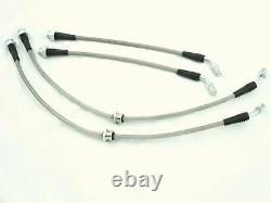 Front & Rear Conversion Brake Lines for 240SX S13 S14 with 300ZX Z32 Calipers