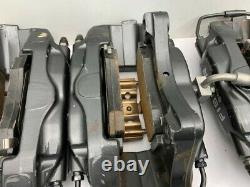 Genuine Fisker Karma Brembo Brake Calipers rear pads pipe line