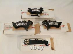 HARCORE RACING Harrison BILLET Brake Calipers for TwinCam Softail