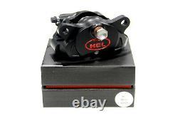 HEL Performance Solid Billet 2 Piston Rear Brake Caliper (84mm Black)