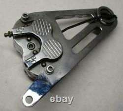 Harley Davidson Aluminum Billet Rear Brake Caliper JB Chrome Chopper Custom