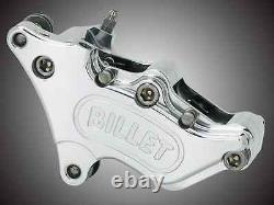 Harley Davidson Harrison Billet Brake Caliper 4-pot Fit 84-99 Models Bc35266 T