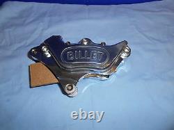 Harley Davidson Harrison Billet Brake Caliper 4-pot Fits 84-99 Model Bc25584 T